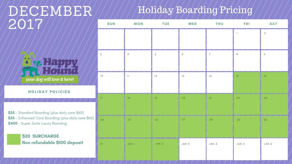 HH December Calendar