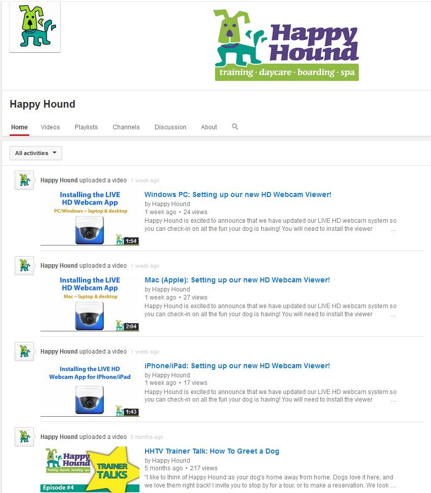 happy hound youtube channel