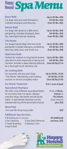 happy hound oakland dog grooming pricing